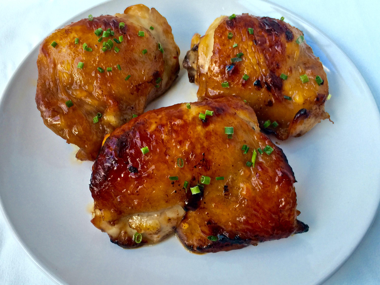 Asian Chicken Thighs  Baked Asian Chicken Thighs Tastefulventure
