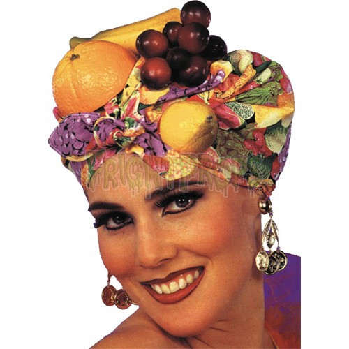 Ask The Fruitcake Lady  Latin Lady Fruit Headpiece FrightProps