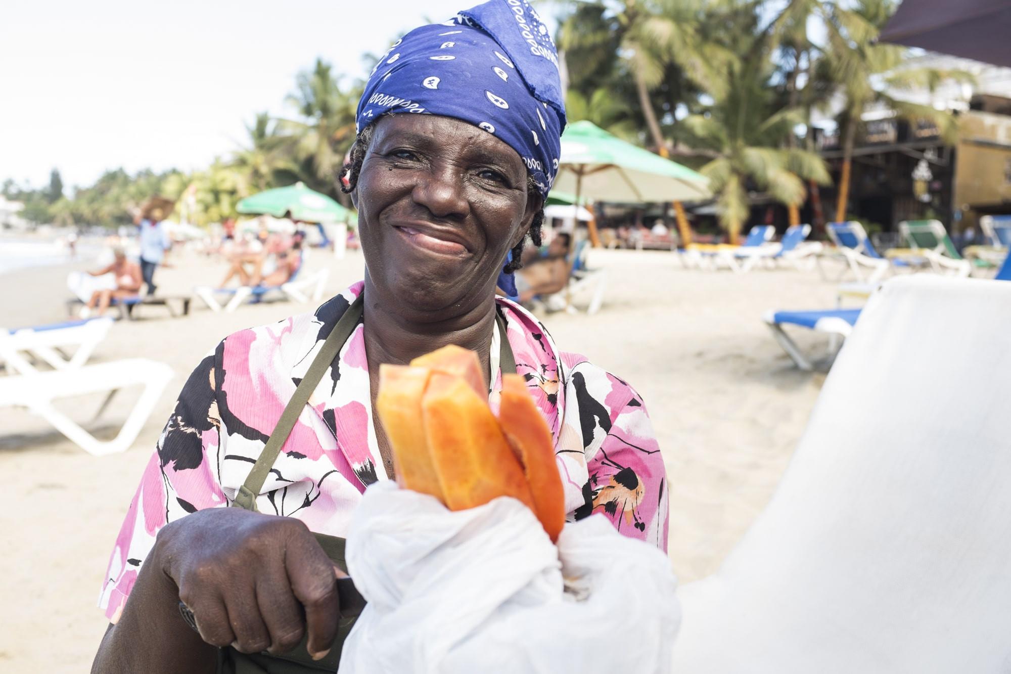 Ask The Fruitcake Lady  Cabarete Icons Ana The Fruit Lady