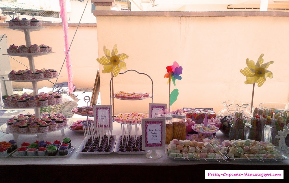 Baby Shower Dessert Table Ideas  Pretty Cupcake Ideas Baby Shower Dessert Table