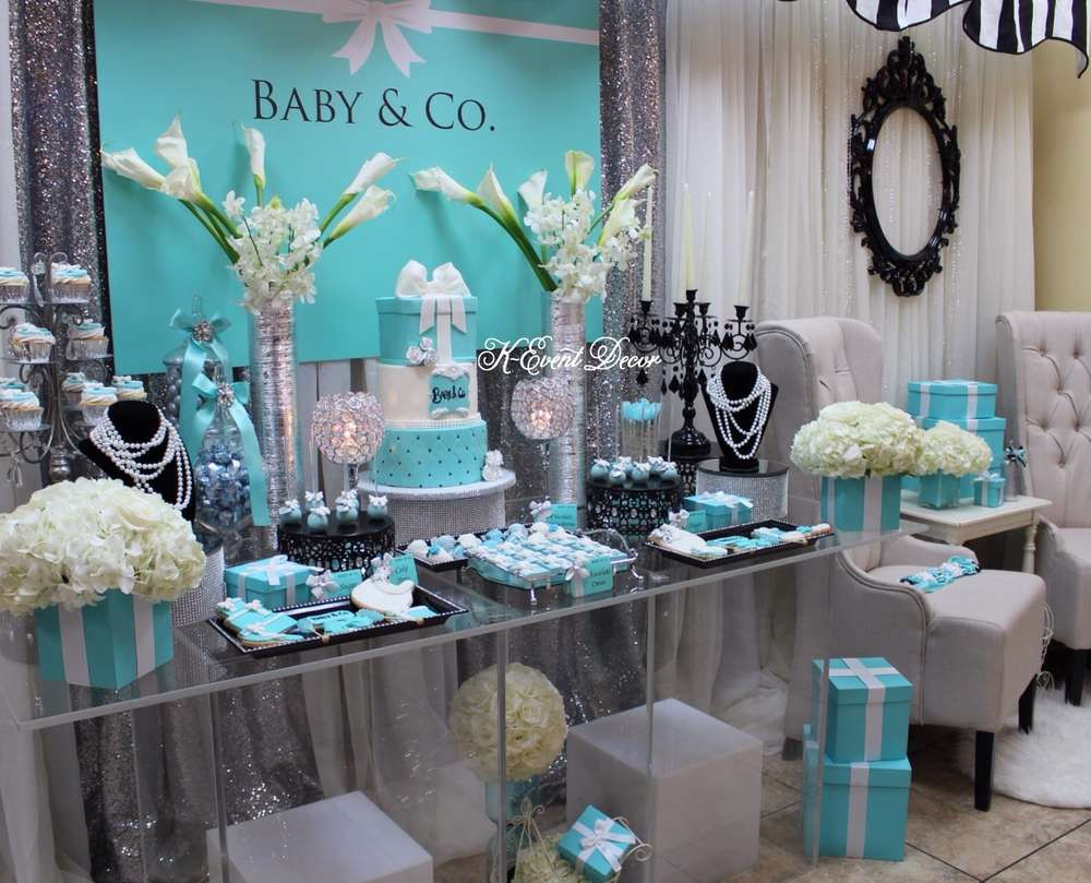 Baby Shower Dessert Table Ideas  baby and co baby shower dessert table ideas Baby Shower
