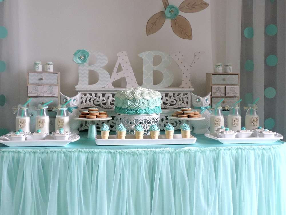Baby Shower Dessert Table Ideas  Wel e Home Baby Owl Shower Baby Shower Ideas Themes