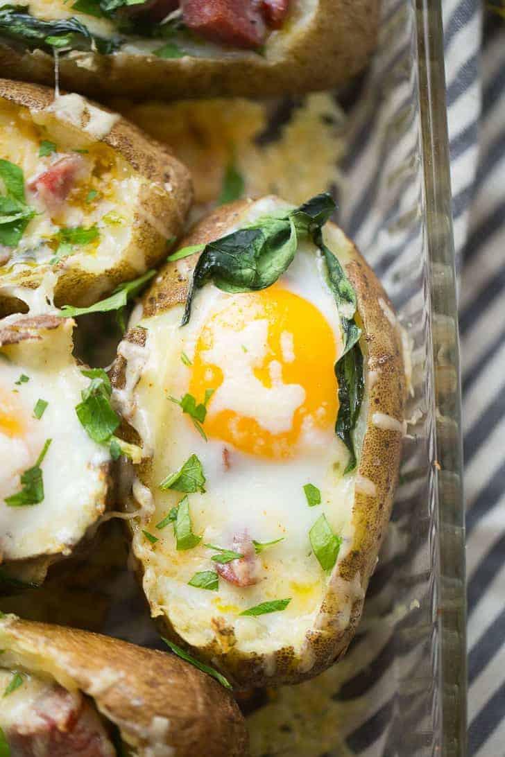 Baked Breakfast Potatoes  Baked Breakfast Potatoes LemonsforLulu
