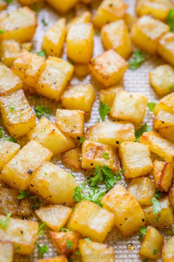 Baked Breakfast Potatoes  Breakfast Potatoes Recipe NatashasKitchen