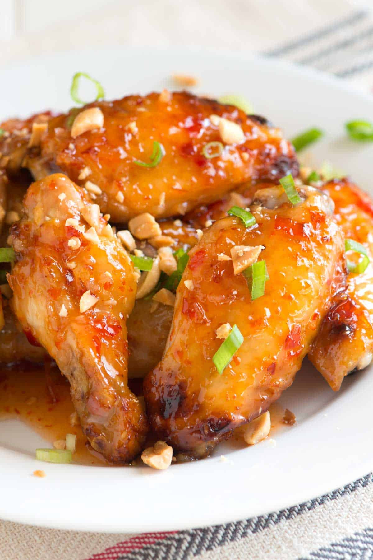 Baked Chicken Wings Recipe  Sweet Chili Baked Chicken Wings Recipe