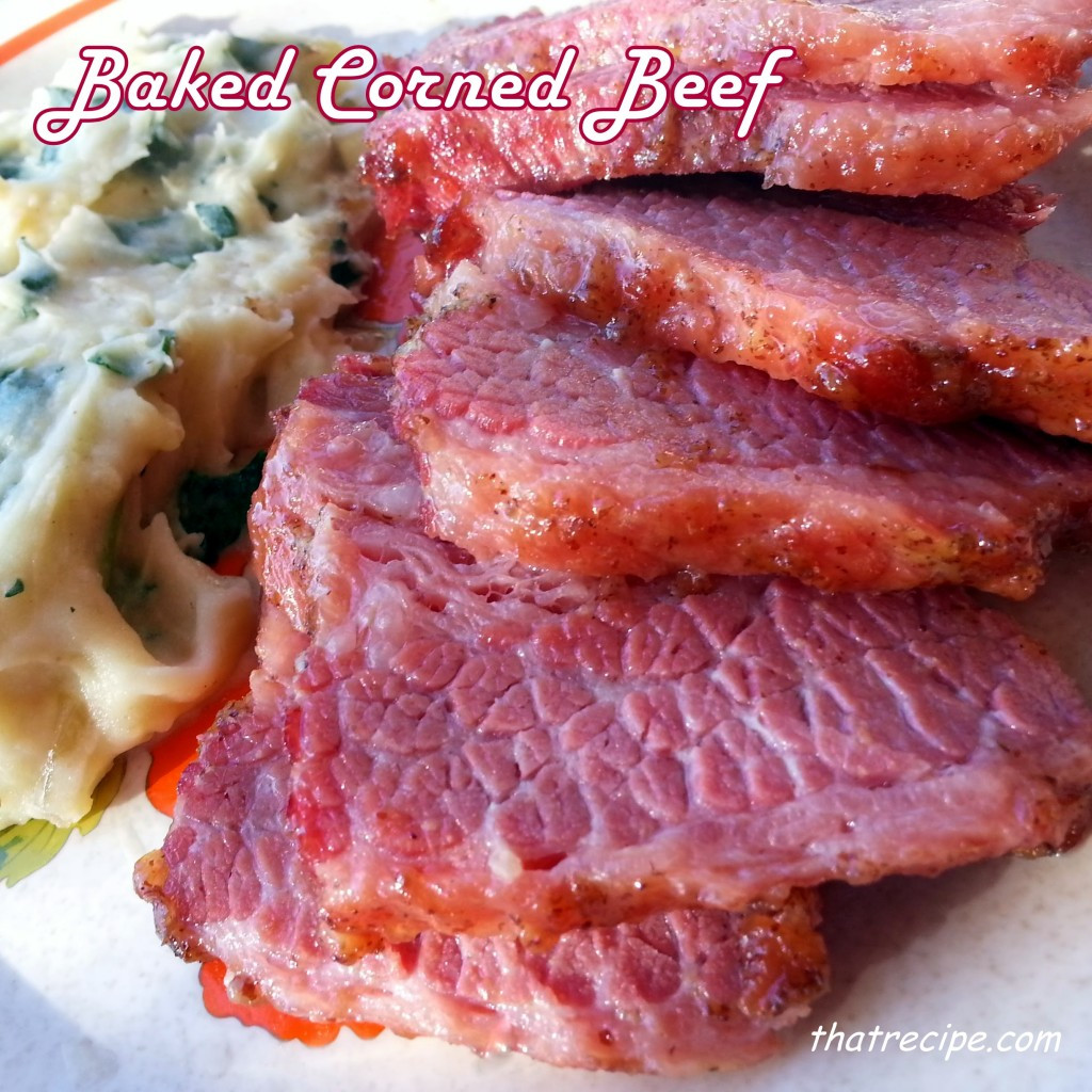 Baked Corn Beef  Baked Corned Beef ·That Recipe