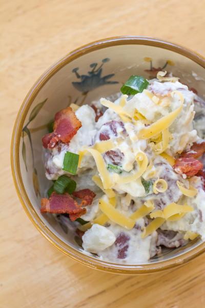 Baked Potato At 400  Loaded Baked Potato Salad