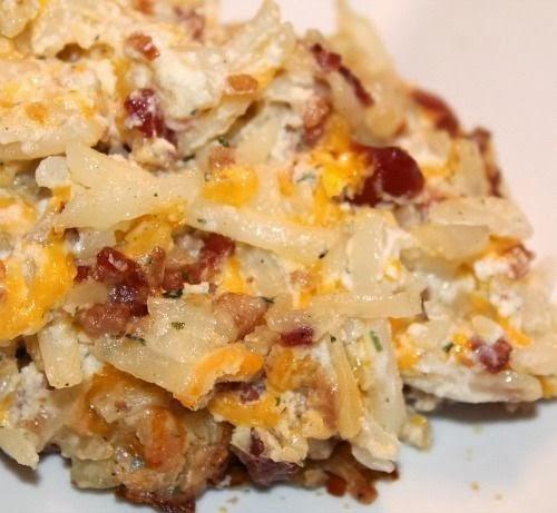 Baked Potato At 400  Cooking Pinterest Loaded Baked Potato Casserole Recipe