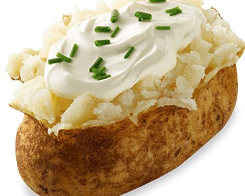 Baked Potato At 400  Menu