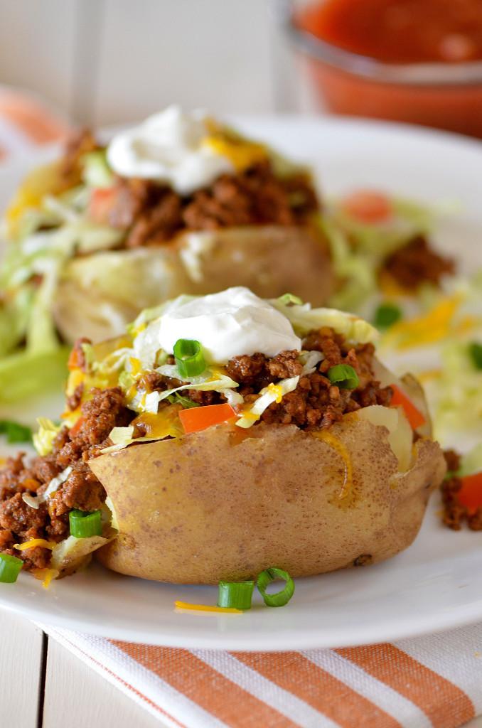 Baked Potato At 400  Taco Potatoes Life In The Lofthouse
