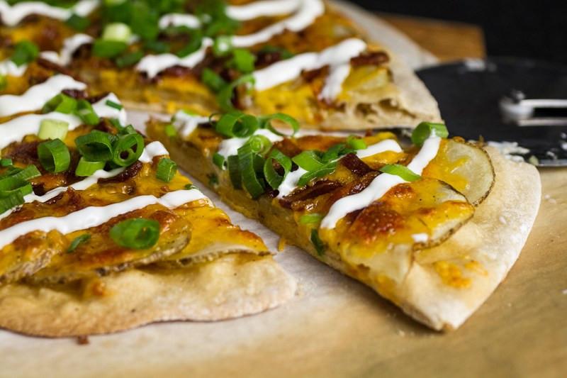 Baked Potato Pizza  Baked Potato Pizza Chattavore