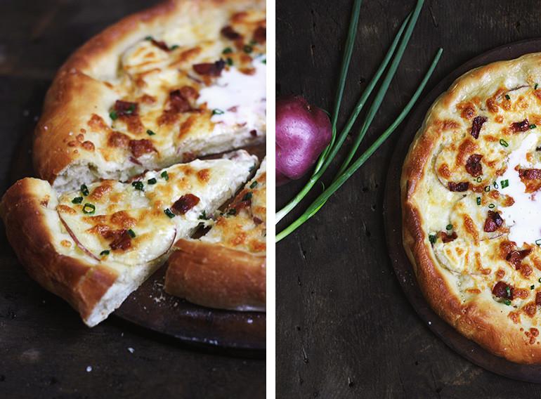 Baked Potato Pizza  Baked Potato Pizza The Merrythought