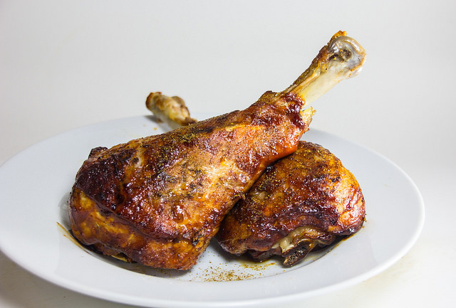 Baked Turkey Legs  Turkey Drumstick definition meaning