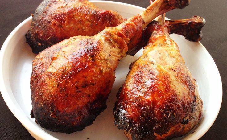 Baked Turkey Legs  Caveman Pops aka Roasted Turkey Legs Recipe — Dishmaps