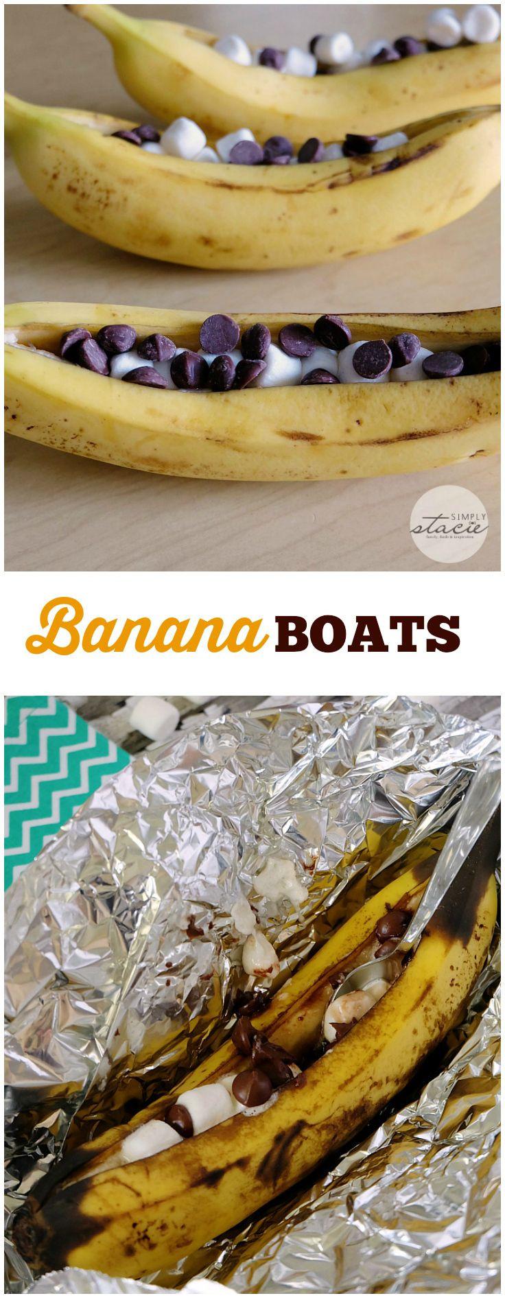 Banana Boat Dessert  17 Best ideas about Campfire Banana Boats on Pinterest