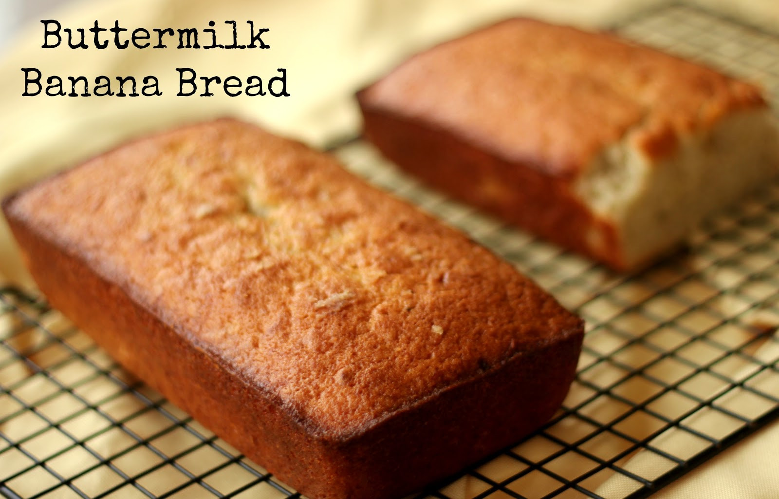 Banana Bread Buttermilk  The Unsophisticated Kitchen Buttermilk Banana Bread The