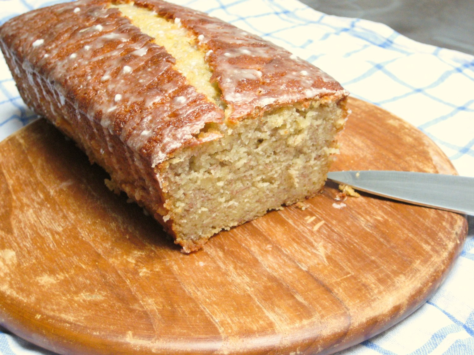 Banana Bread Buttermilk  Buttermilk Banana Bread – Birthday Cake No 1 – ginger