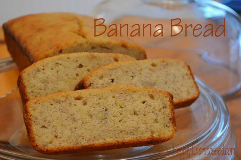 Banana Bread Buttermilk  Buttermilk Banana Bread Happily Unprocessed
