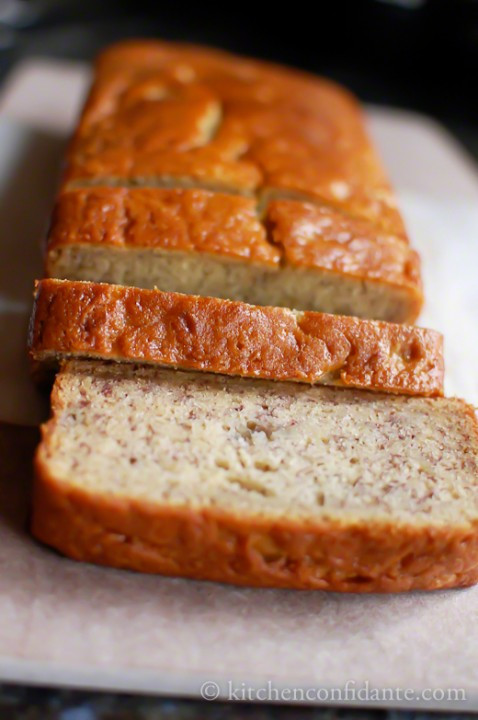 Banana Bread Buttermilk  Buttermilk Banana Bread