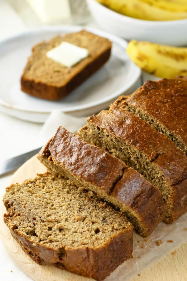 Banana Bread Recipe With Applesauce  Healthy Banana Bread with Applesauce Recipe