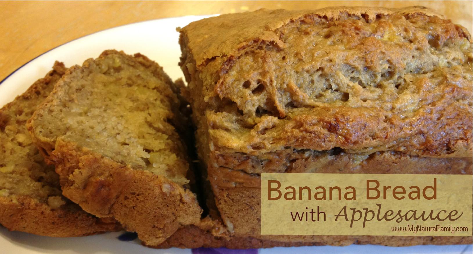 Banana Bread Recipe With Applesauce  Best 25 Banana bread with applesauce ideas on Pinterest