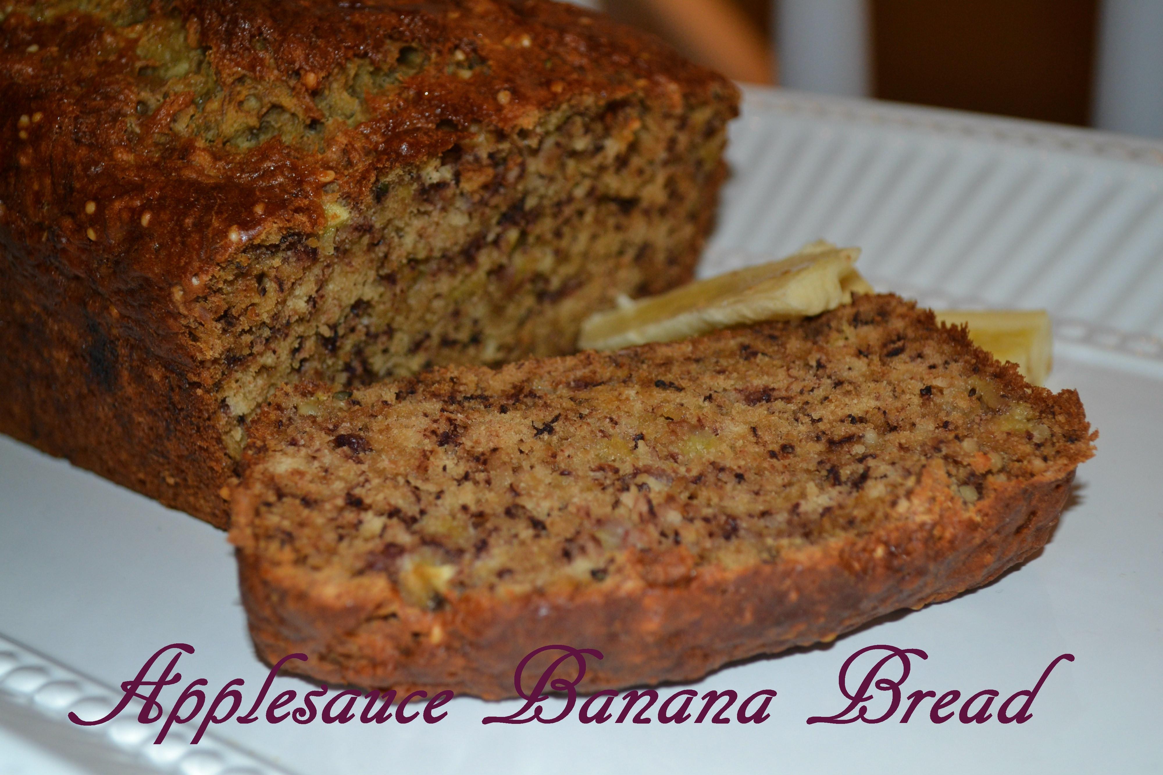 Banana Bread Recipe With Applesauce  Applesauce Banana Bread – yummyforyourtummy♥