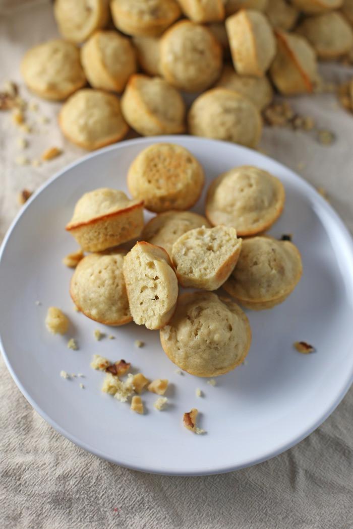 Banana Breakfast Recipes  mini breakfast muffins