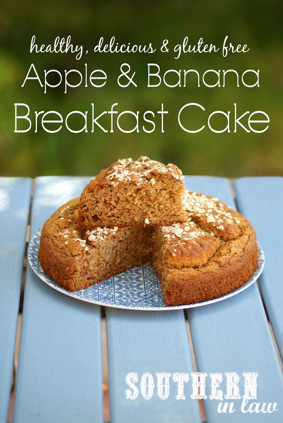 Banana Breakfast Recipes  Southern In Law Recipe Apple and Banana Breakfast Cake