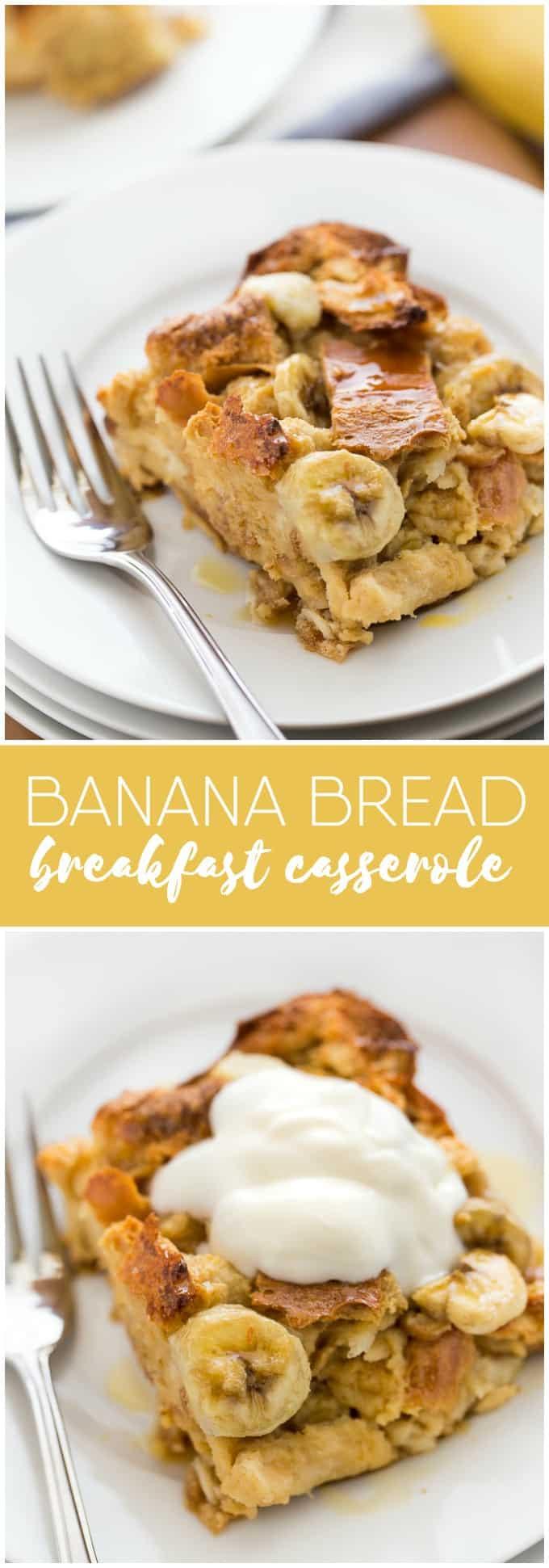 Banana Breakfast Recipes  banana breakfast casserole