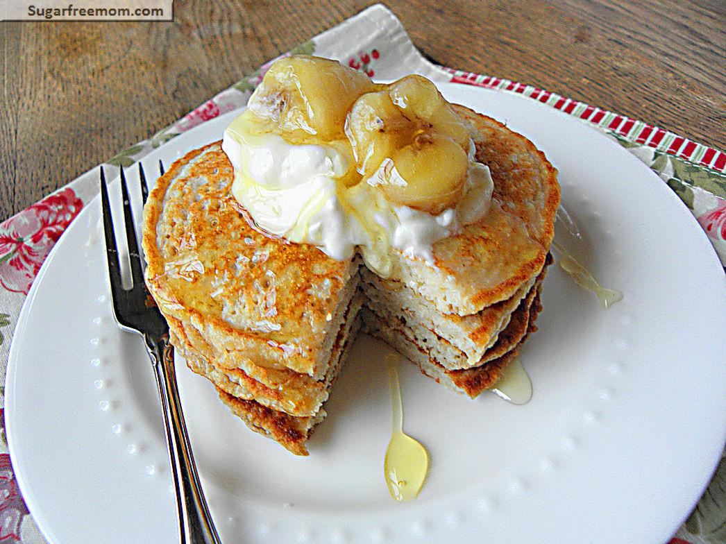 Banana Breakfast Recipes  Banana Oat Protein Pancakes [Gluten Free] & 10 Christmas