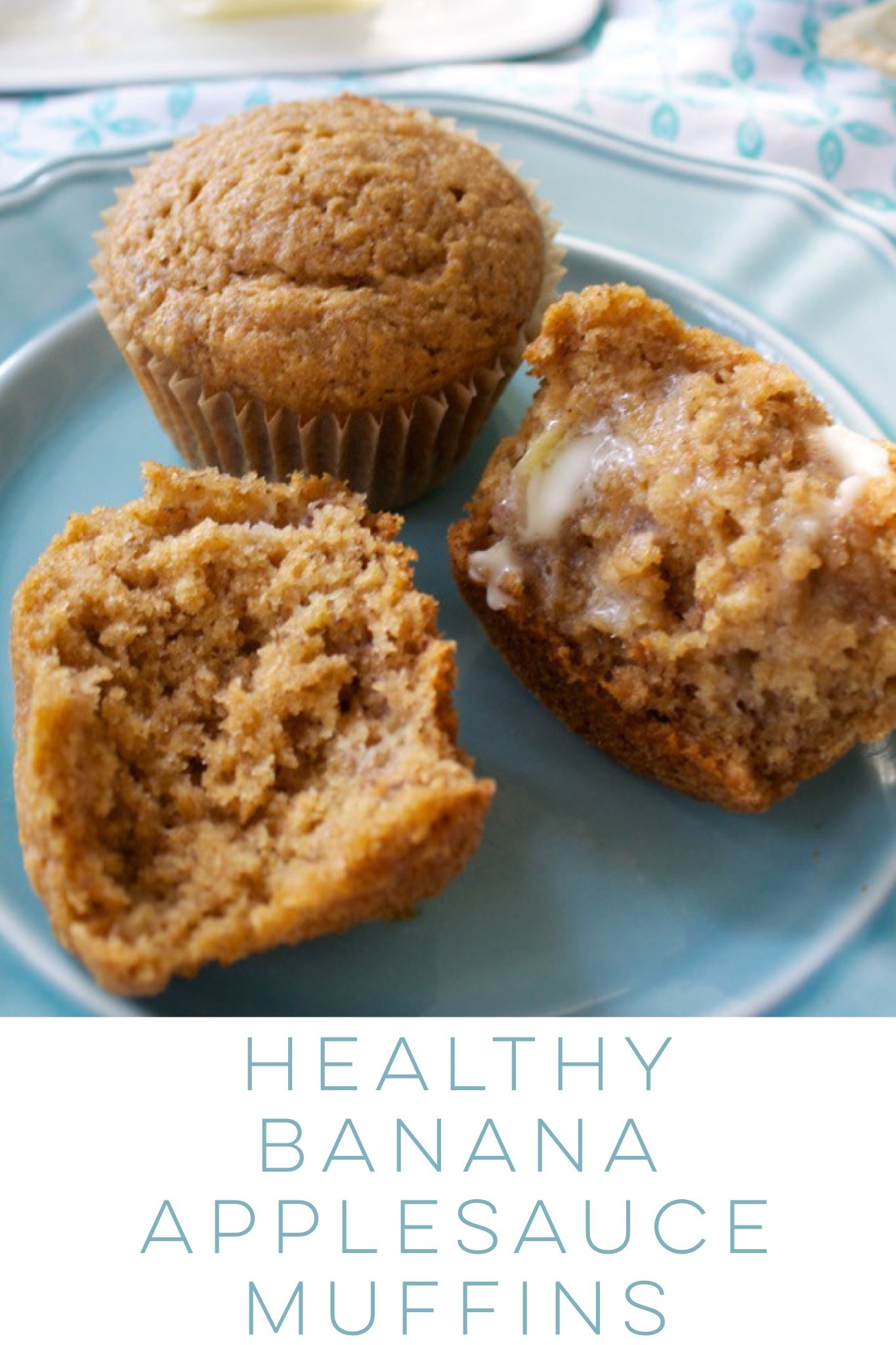 Banana Muffins With Applesauce  Healthy Banana Applesauce Muffins Bet Dinner