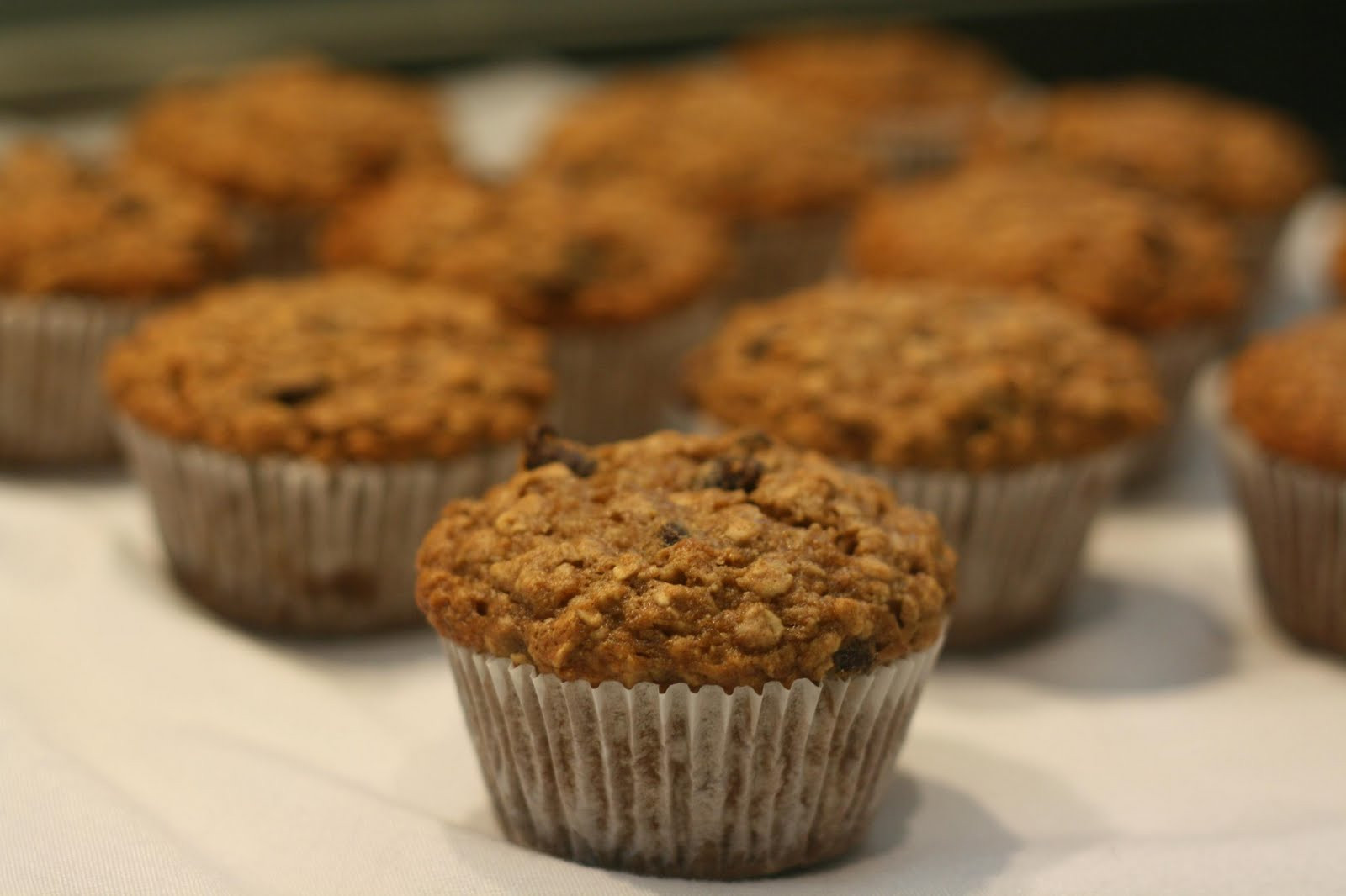 Banana Muffins With Applesauce  So Tasty So Yummy Banana Applesauce Oat Muffins
