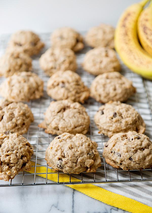 Banana Oatmeal Breakfast Cookies  Banana Oat Breakfast Cookies Baked Bree