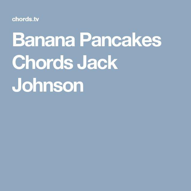 Banana Pancakes Ukulele Chords  The 25 best Banana pancakes lyrics ideas on Pinterest