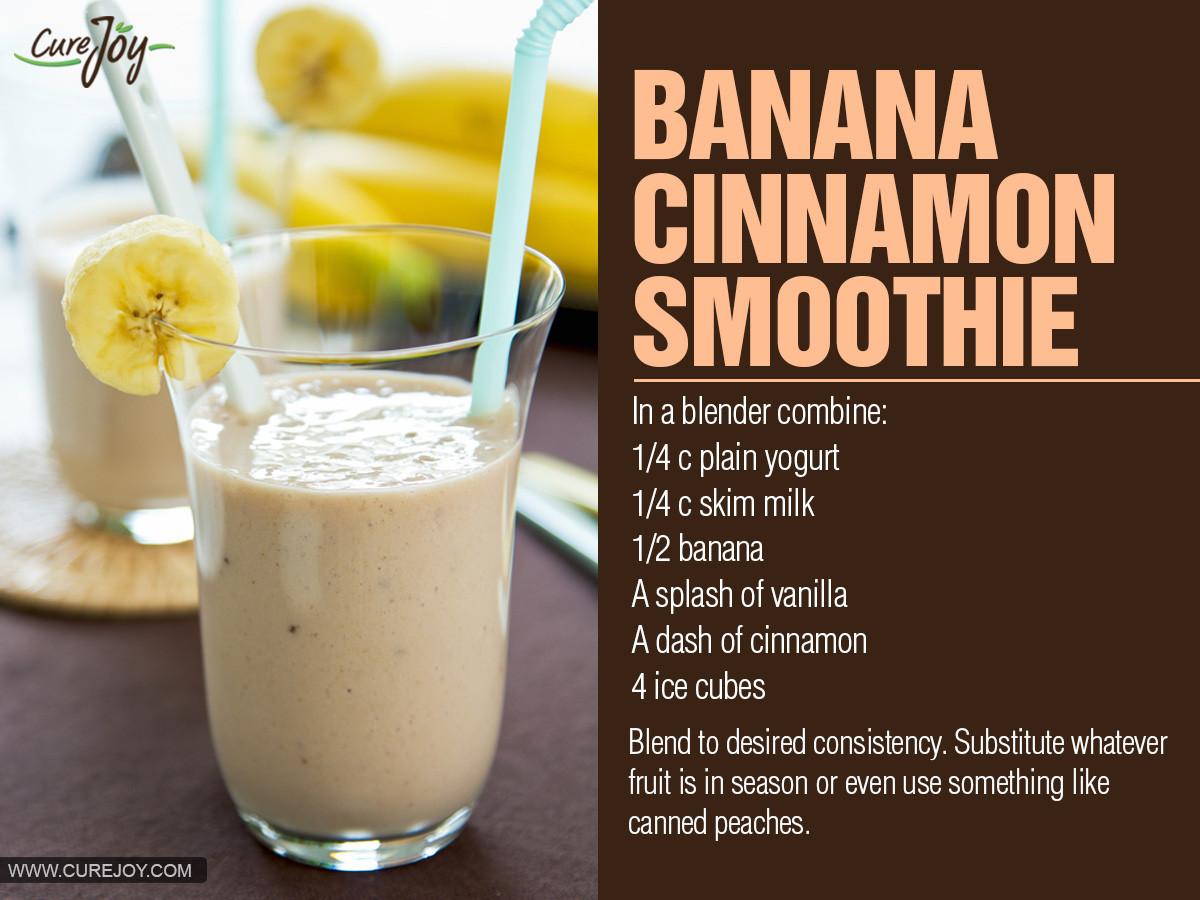 Banana Smoothie Recipes  healthy banana smoothie recipes for weight loss