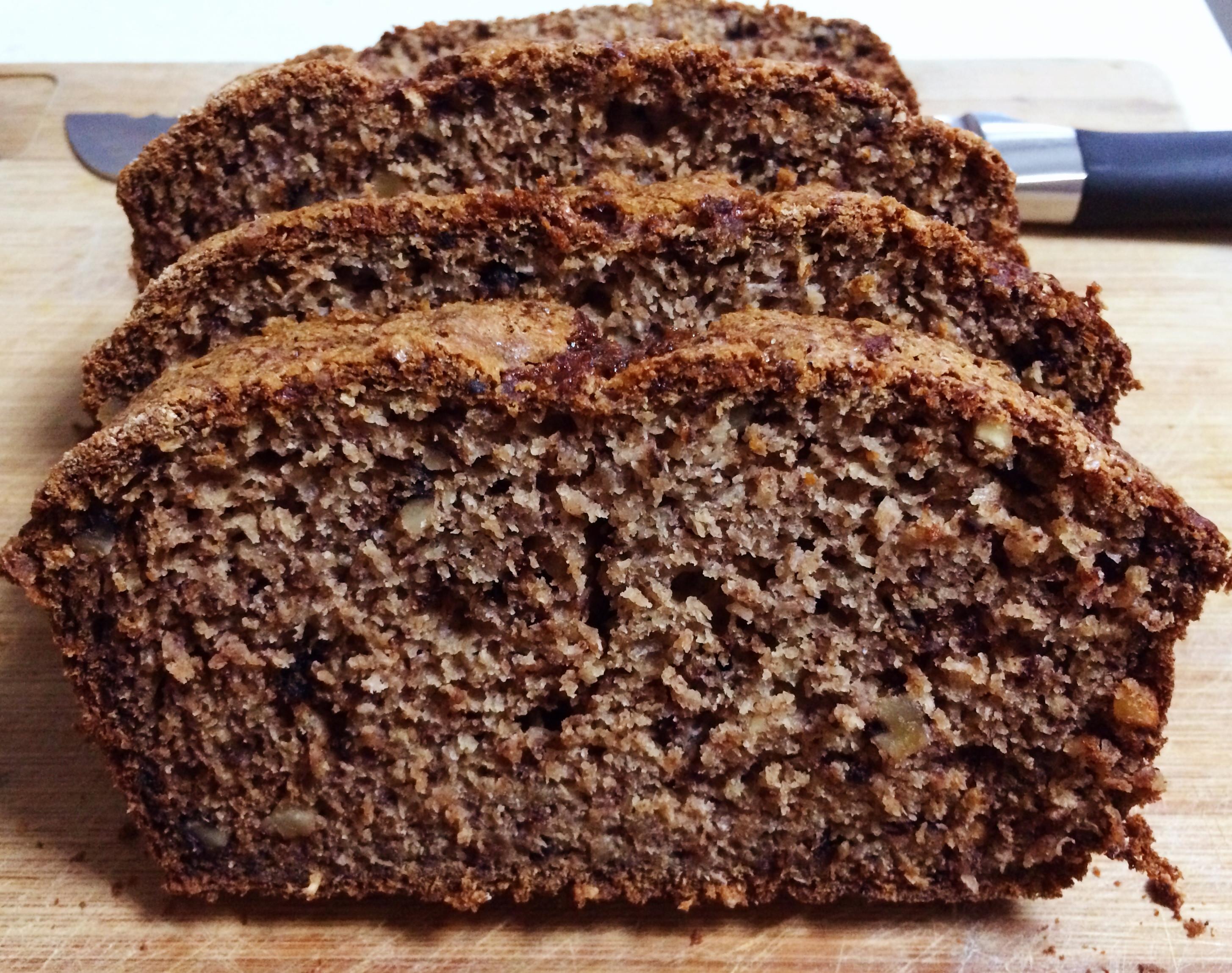 Banana Walnut Bread  Walnut & Chia Banana Bread healthy recipe Bake Play Smile