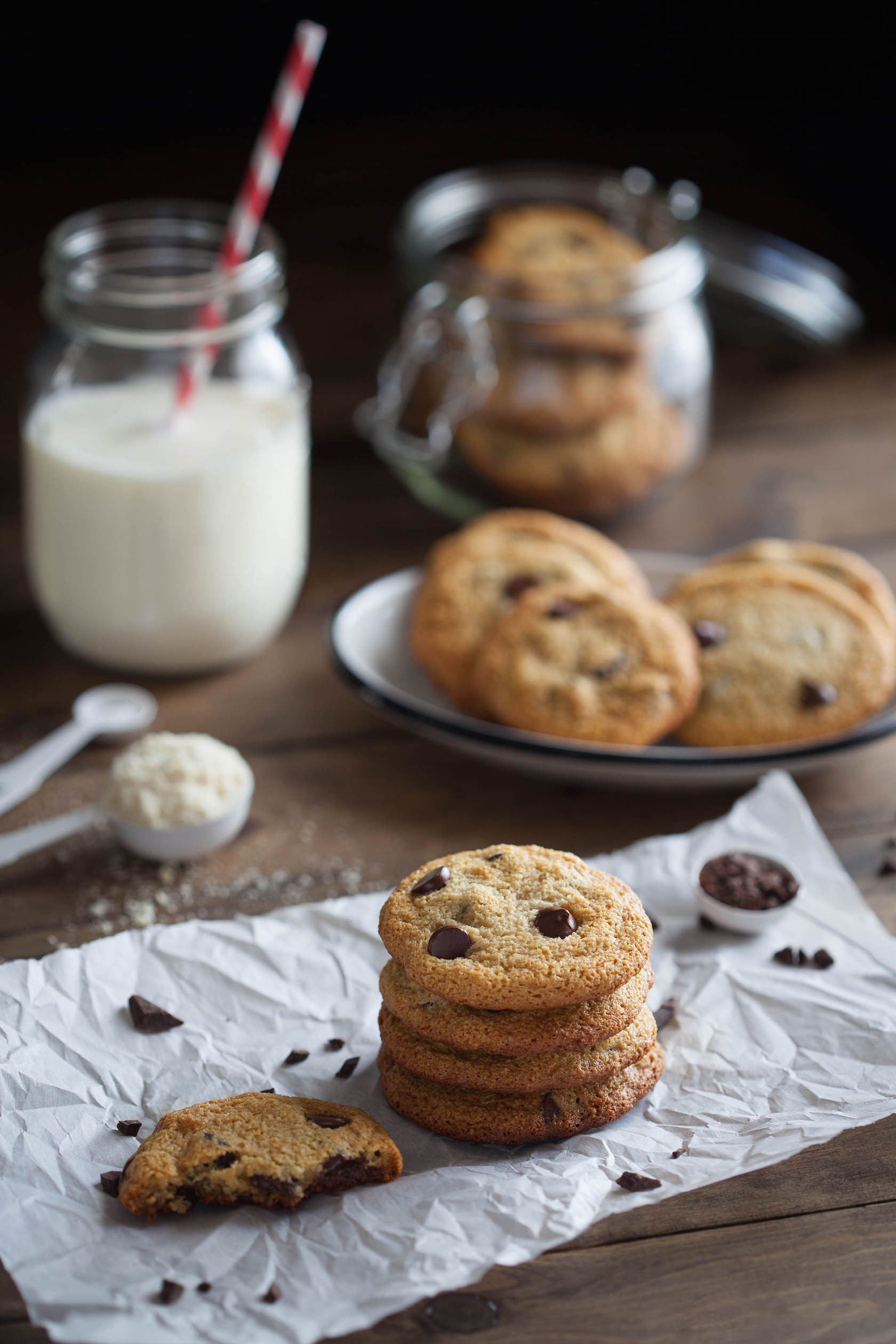 Basic Chocolate Chip Cookies  Simple Chocolate Chip Cookies