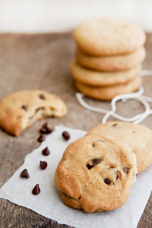 Basic Chocolate Chip Cookies  erinnish Basic Chocolate Chip Cookies