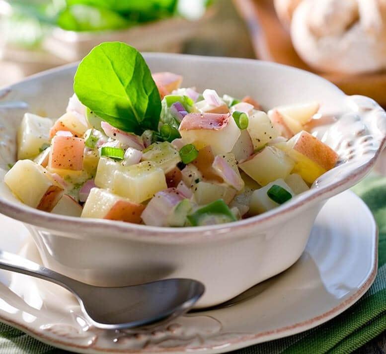 Basic Potato Salad  Healthy potato salad Healthy Food Guide