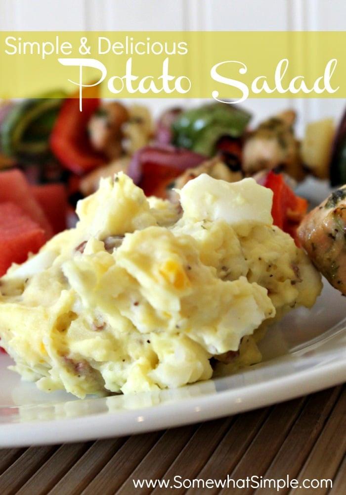 Basic Potato Salad  Simple and Delicious Potato Salad Recipe Somewhat Simple