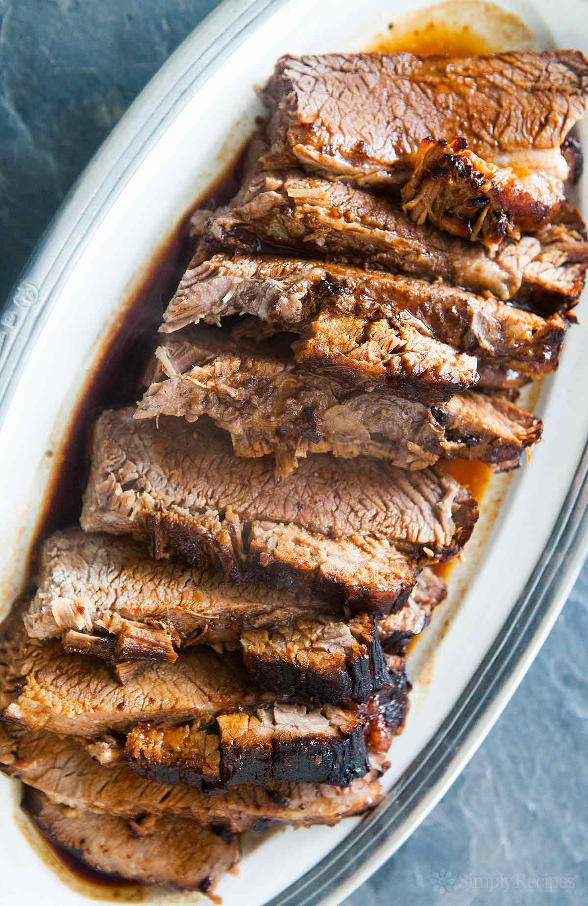 Bbq Beef Brisket Recipe  Easy Beef Brisket Recipe