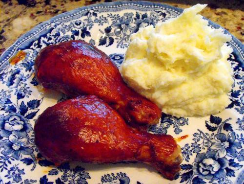 Bbq Chicken Legs  Baked BBQ Chicken Legs