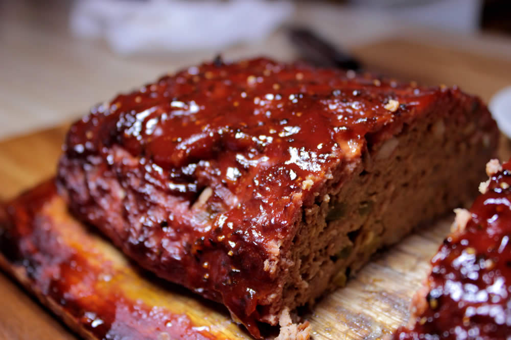 Bbq Meatloaf Recipe  Barbecue Meatloaf Points Recipes