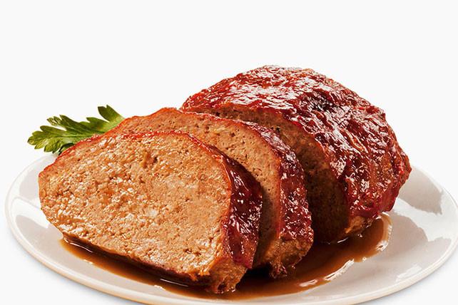 Bbq Meatloaf Recipe  Honey BBQ Meatloaf Kraft Recipes