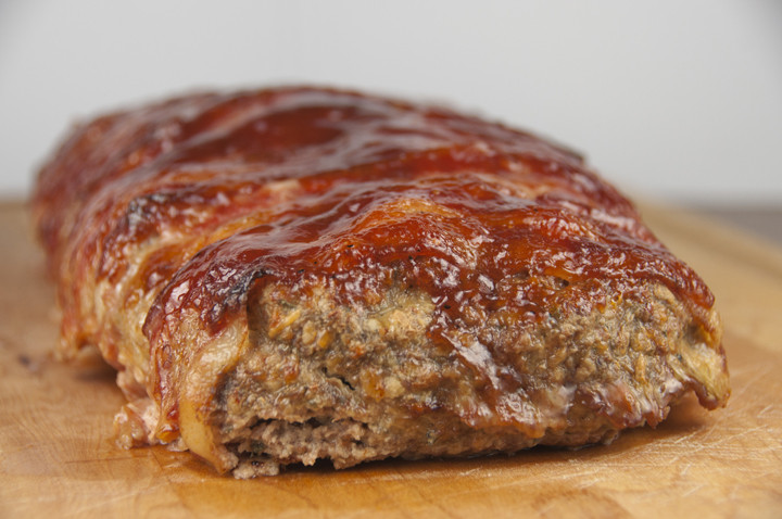 Bbq Meatloaf Recipe  Bacon Wrapped BBQ Meatloaf
