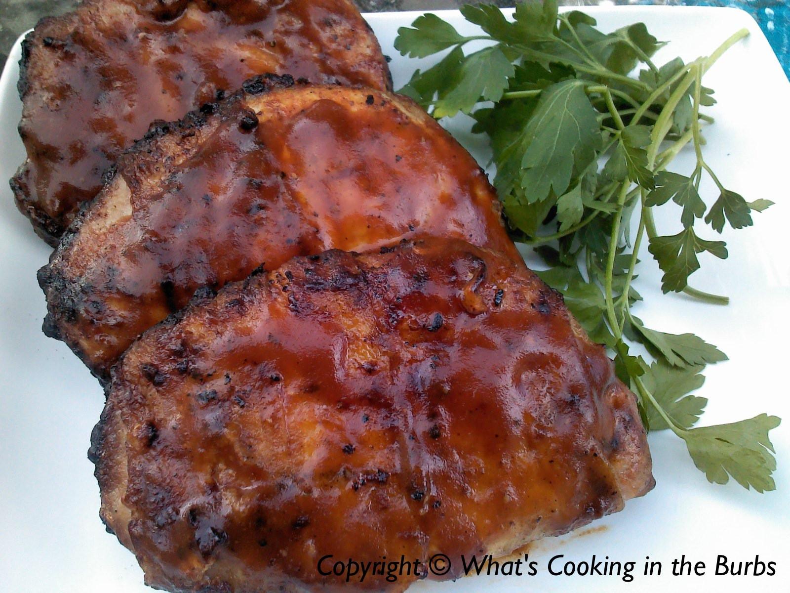 Bbq Pork Chops Oven  bbq pork chops oven
