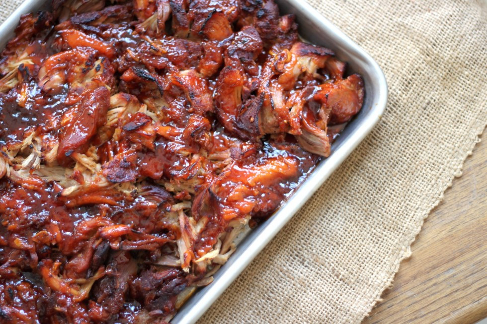 Bbq Sauce For Pulled Pork  Pulled Pork with Apricot Molasses Barbecue Sauce