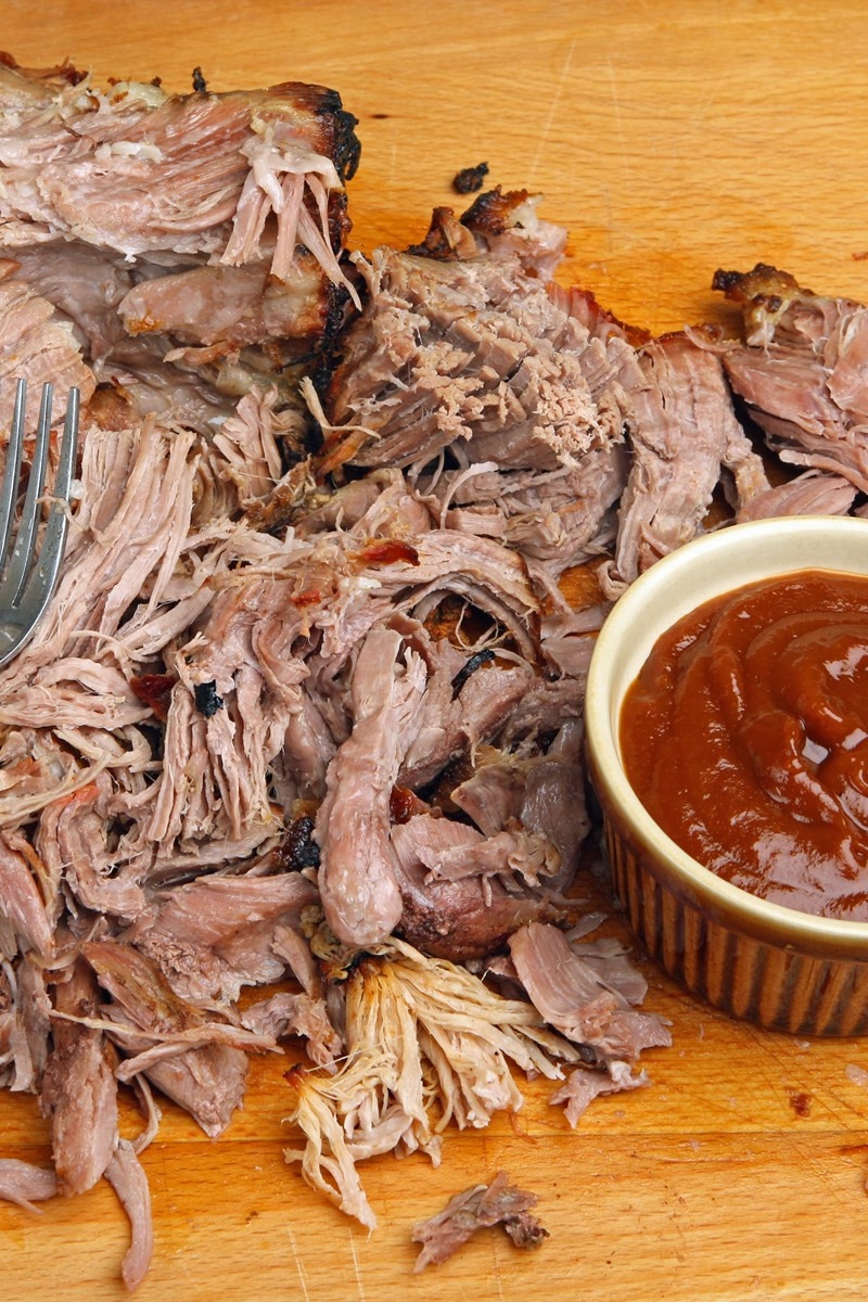 Bbq Sauce For Pulled Pork  Pulled Pork with Homemade Barbecue Sauce