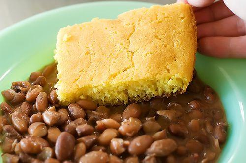 Beans And Cornbread  Beans And Cornbread Recipe — Dishmaps