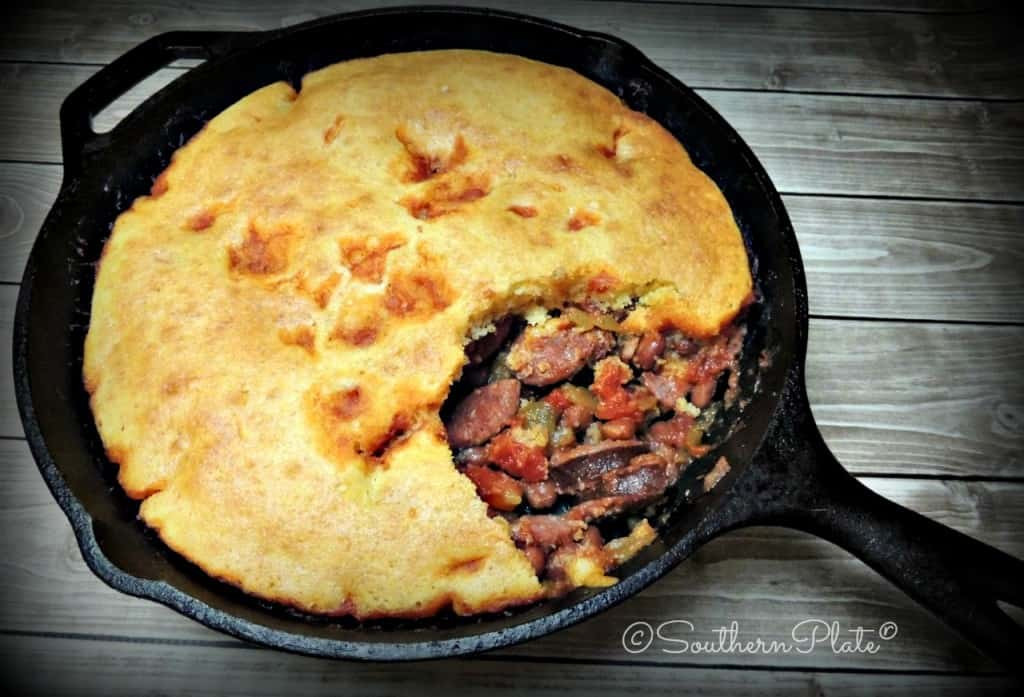 Beans And Cornbread  Red Beans and Cornbread – line Potluck of Recipes